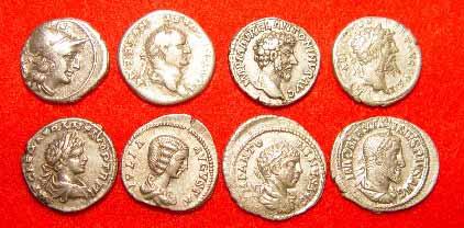 denari romani