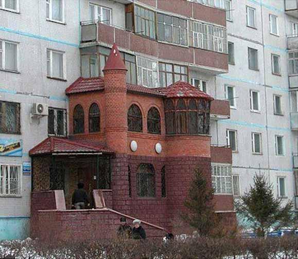 balconul castel