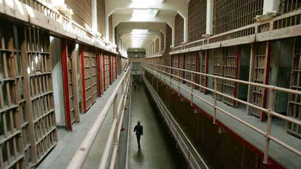 interior inchisoarea alcatraz