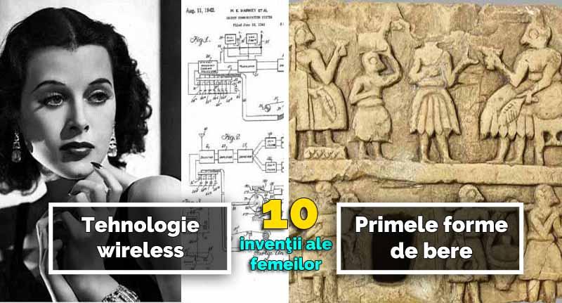 inventii facute de femei