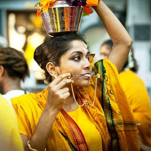 festivaluri ciudate thaipusam