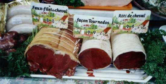 carne de cal animale pe care le mănâncă oamenii