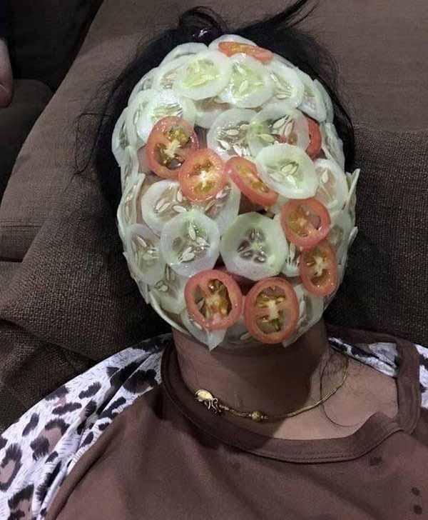 tratament facial rosii si castraveti