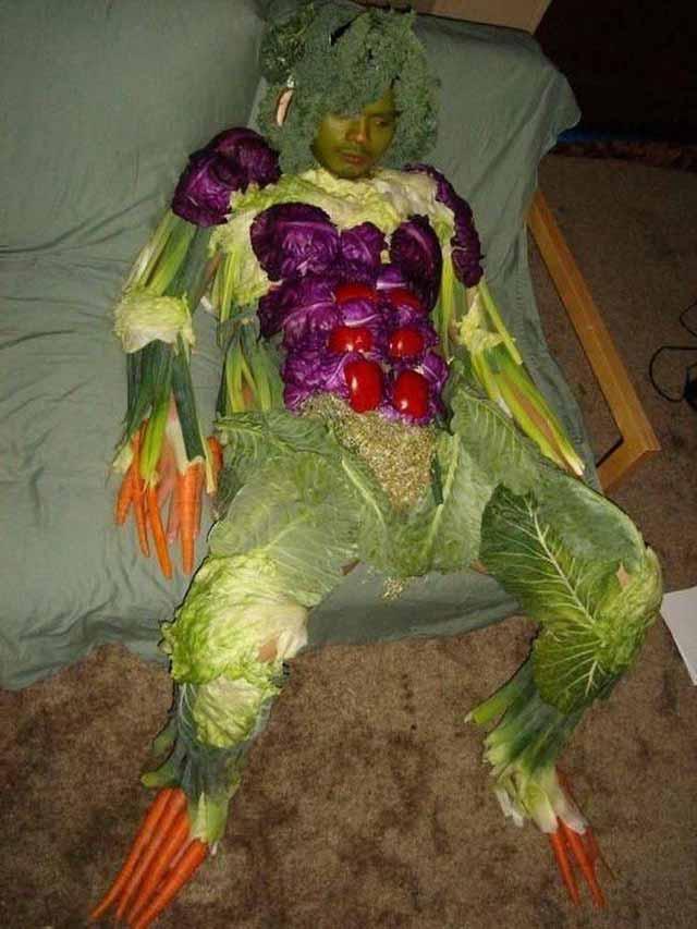 imagini bizare vegan
