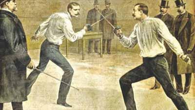 tradiţii ciudate duel