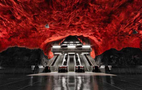 statia de metrou solna