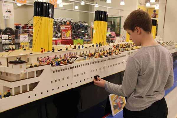 copie titanic lego