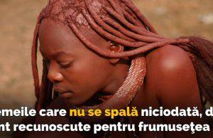 femeile care nu se spală niciodată