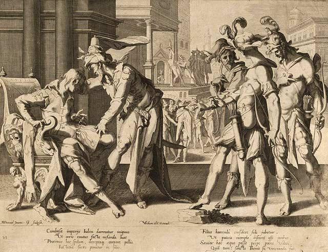 otanes judecator persan