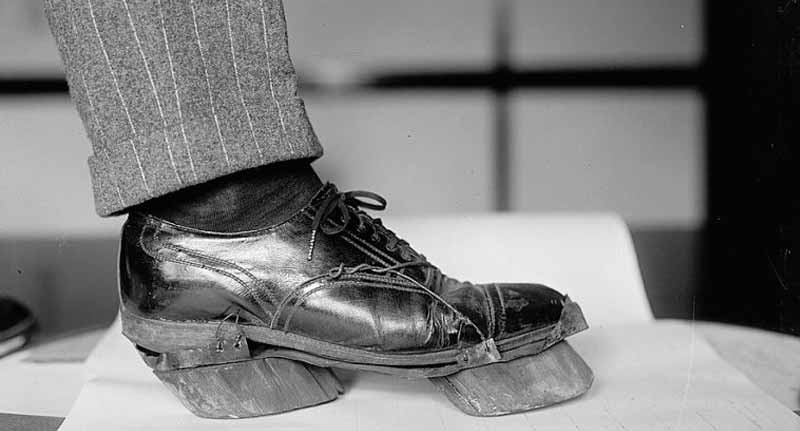 pantofi cu copite de vacă