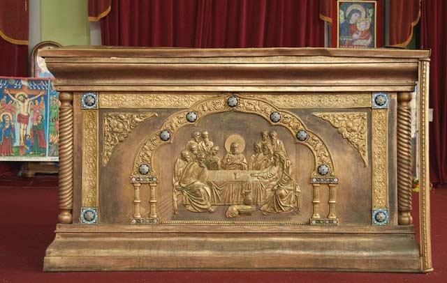 chivotul legământului Biserica Sfânta Maria din Sion