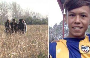 fotbalist de 12 ani găsit mort
