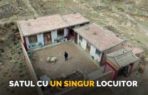 satul cu un singur locuitor
