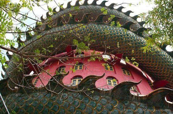 templul dragonului