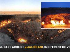 focul care arde de 4000 de ani