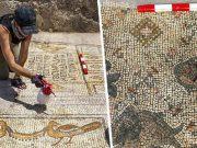 mozaic cu iisus