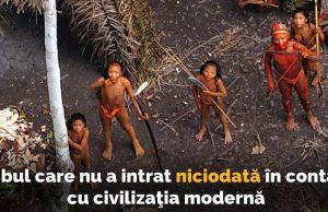 tribul indigen din jungla amazoniană