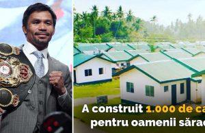 a construit 1000 de case