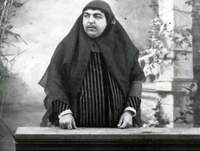 femeia cu mustaţă prinţesa qajar