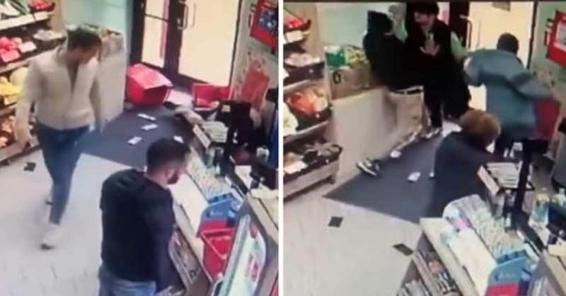 femeie s-a luptat cu doi hoţi