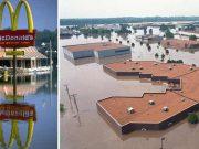 inundat intenţionat un oraş