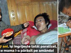 îngrijeşte tatăl paralizat