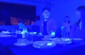 experiment coronavirus la restaurant