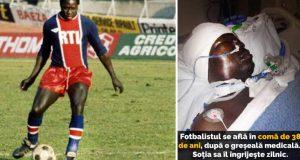 fotbalistul care este în comă