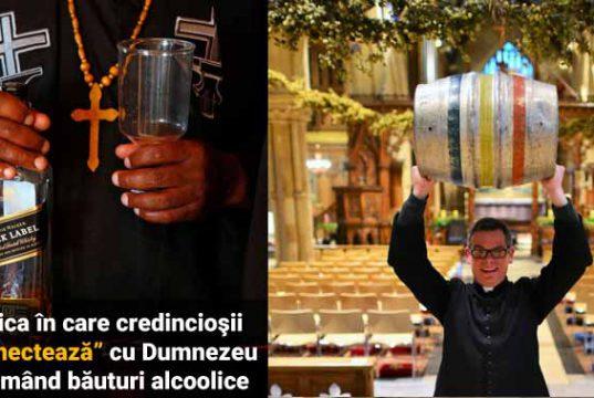 Dumnezeu consumând alcool