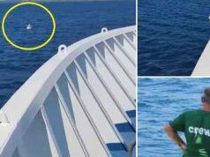 fetiță găsită în largul mării