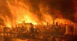 incendiul de la fabrica de whiskey
