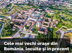 cele mai vechi oraşe din România