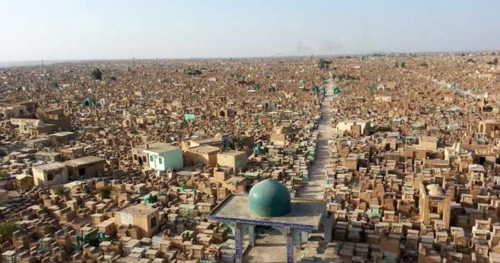 cel mai mare cimitir din lume