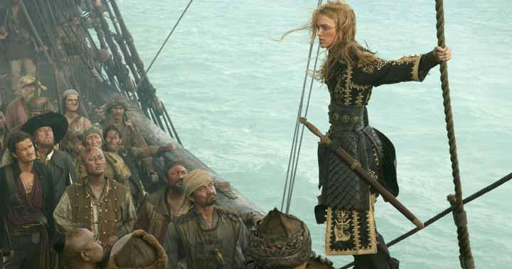 femeie devenită pirat
